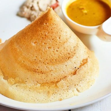 Butter or Ghee Dosa