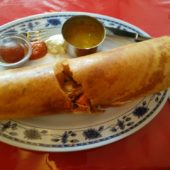 Chicken Mixed Vegetable Dosa