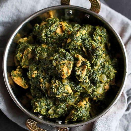 Chicken Palak Curry