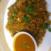Kothu Paratta(Literally minced paratta)-chicken