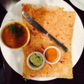 Lamb Mixed Vegetable Dosa